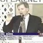 DAVID DUKE ON C-SPAN